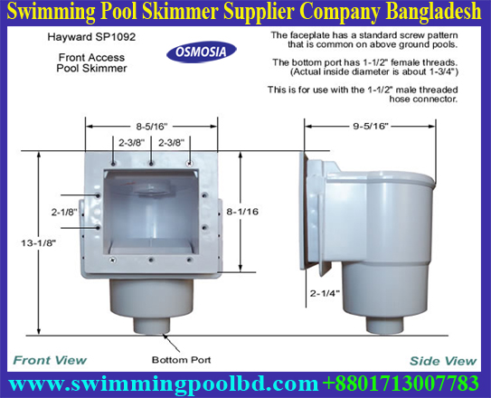 Swimming Pool Bangladesh, Swimming Pool Supplier Bangladesh, Swimming Pool Skimmer & Accessories Supplier Company Dhaka Bangladesh, Inground Swimming Pool Skimmer Accessories Supplier Dhaka Bangladesh, Above Inground Swimming Pool Skimmer Accessories Supplier Dhaka Bangladesh, Above Inground Swimming Pool Plastic Skimmer Accessories Supplier Dhaka Bangladesh, Swimming Pools Skimmer Suppliers Companies Bangladesh, Swimming Pool Skimmer Cover and Basket Supplier Company in Bangladesh, Swimming Pool Wall Mount Surface Skimmer Basket Supplier Company in Bangladesh