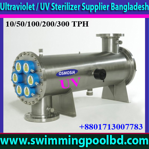 Swimming Pool Water Ultraviolet / UV Filter Sterilizer Supplier Bangladesh, Pool & Spa Water Ultraviolet / UV Filter Sterilizer Supplier Bangladesh, Industrial Ultraviolet / UV Systems Suppliers Bangladesh, Hospital Water Ultraviolet/ UV Filter Sterilizer Supplier Bangladesh, Drinking Water Ultraviolet/ UV Filter Sterilizer Supplier in Bangladesh, Ultraviolet/ UV Water Sterilizer Suppliers Companies in Bangladesh, Ultraviolet/ UV Water Sterilizer Supplier for Swimming Pool in Bangladesh, UV Light Supplier in Bangladesh, UV Lamp Supplier in Bangladesh